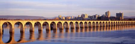 Stone Arch Railroad Bridge Harrisburg PA