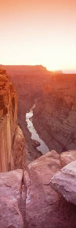 River passing through a canyon Toroweap Overlook