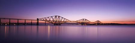 True Elevation of the Forth Rail Bridge fr the hi