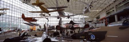 Interiors of a museum Museum of Flight Seattle Wa