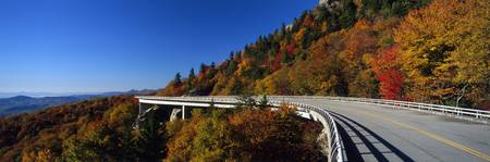 Linn Cove Viaduct Blue Ridge Parkway NC
