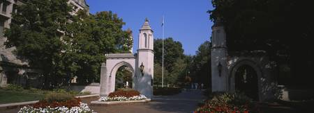 Entrance gate of a university