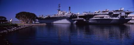 Aircraft carriers at a museum San Diego Aircraft