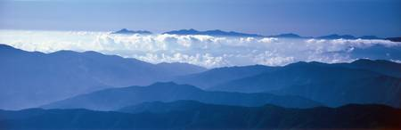 Mt Narikura and cloud forest Nagano Japan