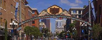 Buildings in a city Gaslamp Quarter San Diego Cal