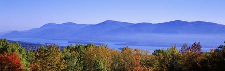 Lake George Adirondack Mountains NY