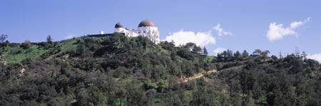 Observatory on a hill Griffith Park Observatory L