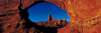 Turret Arch thru North Window Arches National Par