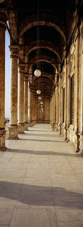 Colonnade at a mosque