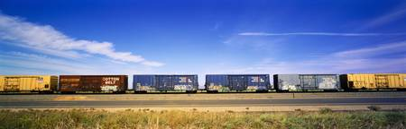 Boxcars Railroad CA