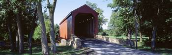 Frederick County Maryland Covered Bridge