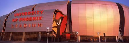Facade of a stadium University of Phoenix Stadium
