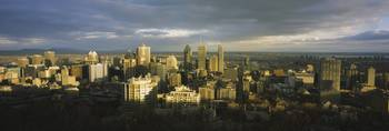 Cityscape from Mont Royal