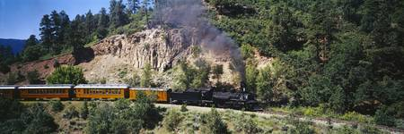 Durango and Silverton Narrow Gauge Railroad Train
