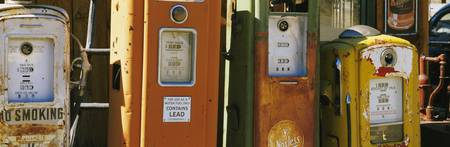 Old fuel pumps