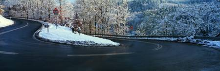 Winter Road Germany