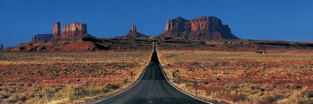 Route 163 Monument Valley Tribal Park AZ