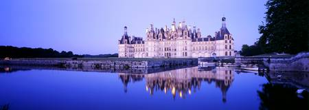Chateau Royal de Chambord Loire Valley France