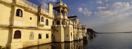 Buildings at the waterfront Lake Pichola Udaipur