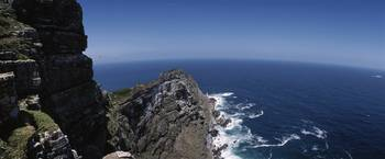 High angle view of a coast Cape Of Good Hope Sout