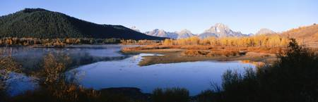 Oxbow Bend Mt Moran Grand Teton National Park WY