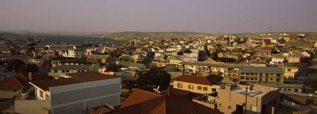 High angle view of a town Luderitz Karas Region N