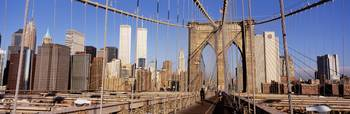 Brooklyn Bridge Manhattan New York NY