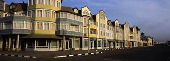 Buildings at the roadside Swakopmund Erongo Regio