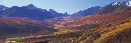 Tombstone Valley Yukon Canada