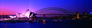 Opera House Harbour Bridge Sydney Australia