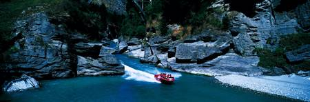 Boating Queenstown New Zealand