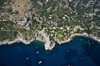 Aerial view of a hotel Hotel San Pietro Amalfi Co