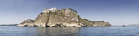 Castle on an island Castello Aragonese Ischia Isl