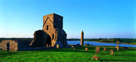 Enniskillen Devenish Island County Fermanagh Irel