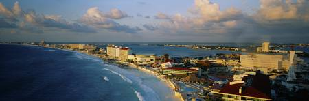 Beach front Cancun Mexico