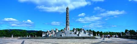 Vigeland Sculpture Garden Oslo Norway