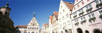 Market Square Rothenburg Germany
