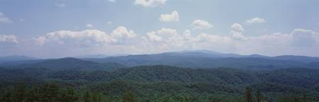 Panoramic view of mountains
