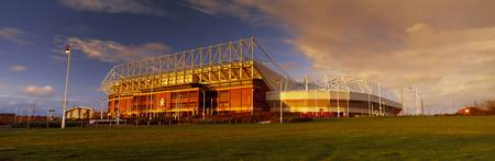 Clouds over a stadium Stadium Of Light Sunderland