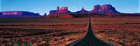 Route 163 Monument Valley Tribal Park UT