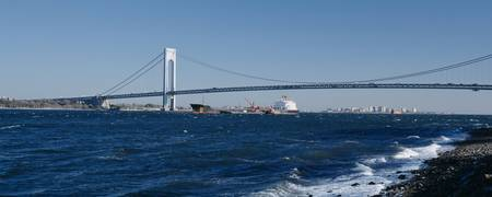 Verrazano Narrows Bridge Staten Island New York