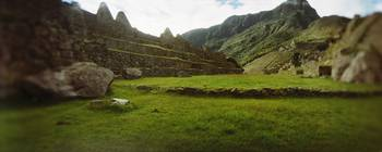 Ruins of buildings at an archaeological site Inca