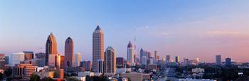 Twilight Skyline Atlanta GA
