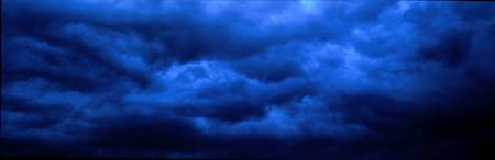 Dramatic Blue Clouds
