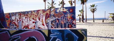 Graffiti Venice Beach CA