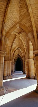 Archway in a university University of Glasgow Gla