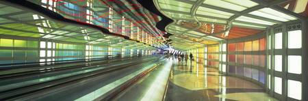 O‰ÛªHare International Airport Moving Walkway