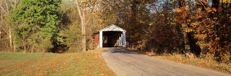 Melcher Covered Bridge Parke Co IN