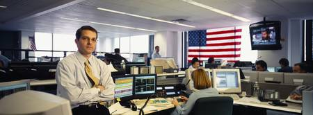 Trading Floor Financial Services Firm