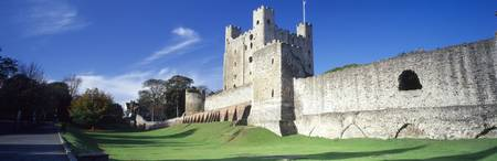 Ruins of a castle Rochester Castle Rochester Kent